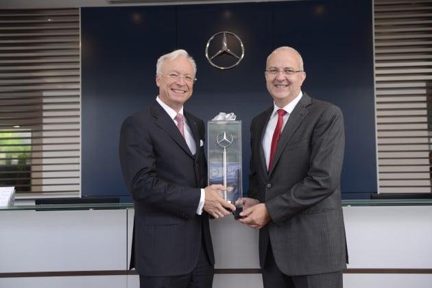 Mercedes benz hap seng star kinrara autohaus undergoes for Mercedes benz financial commercial