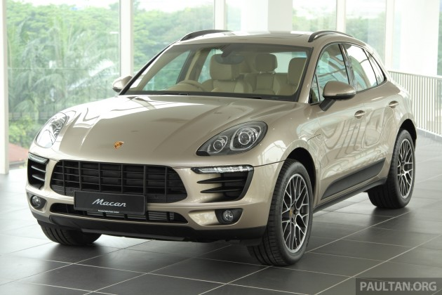 Gallery Porsche Macan In Malaysian Showroom