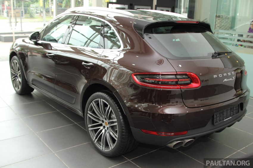 Gallery Porsche Macan In Malaysian Showroom Image 271443