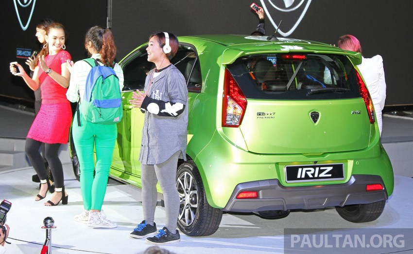 Proton Iriz launched – 1.3 and 1.6 VVT, from RM42k Image #275306