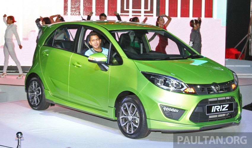 Proton Iriz launched – 1.3 and 1.6 VVT, from RM42k Image #275304
