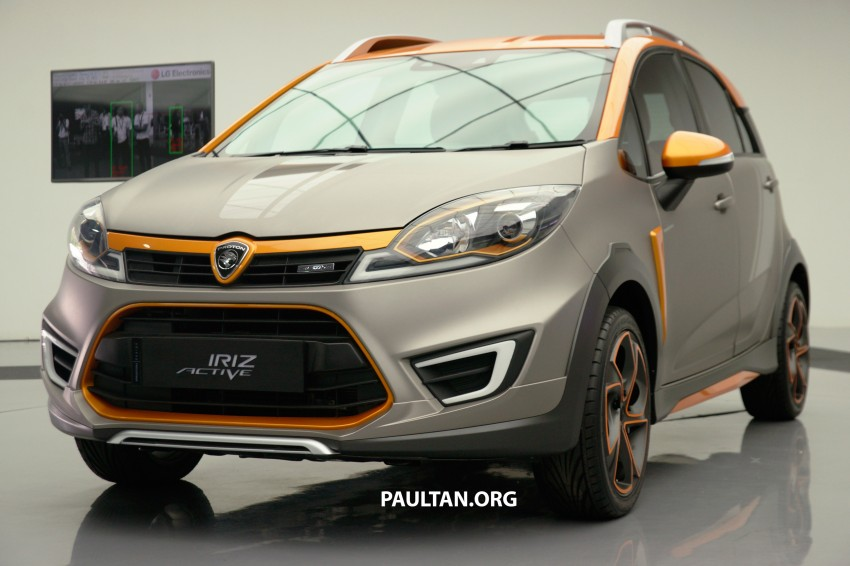 Proton Iriz Active concept unveiled with crossover looks, high-tech additions – production possible Image #275646