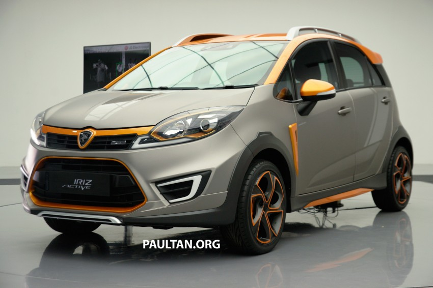 Proton Iriz Active concept unveiled with crossover looks, high-tech additions – production possible Image #275645