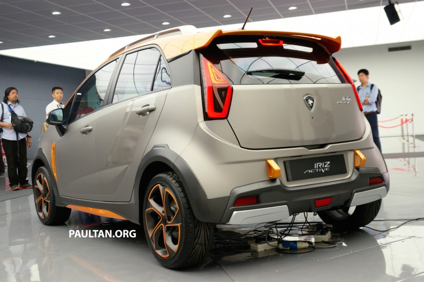 Proton Iriz Active concept unveiled with crossover looks, high-tech additions – production possible Image #275644