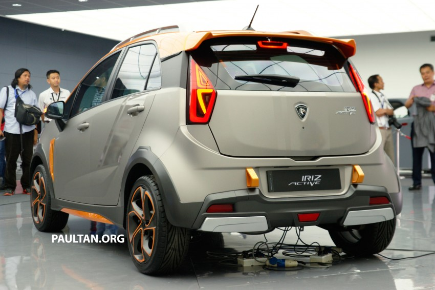 Proton Iriz Active concept unveiled with crossover looks, high-tech additions – production possible Image #275643