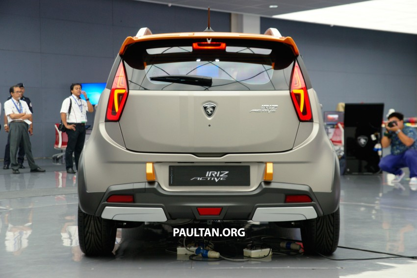Proton Iriz Active concept unveiled with crossover looks, high-tech additions – production possible Image #275641