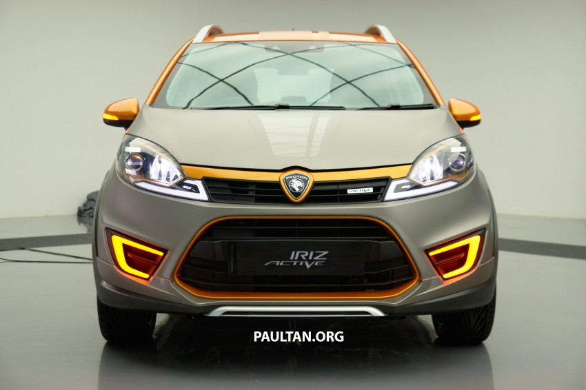 Proton Iriz Active concept unveiled with crossover looks, high-tech additions – production possible Image #275642