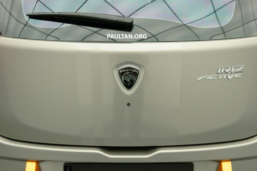 Proton Iriz Active concept unveiled with crossover looks, high-tech additions – production possible Image #275625