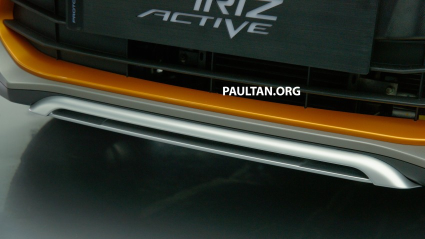 Proton Iriz Active concept unveiled with crossover looks, high-tech additions – production possible Image #275624