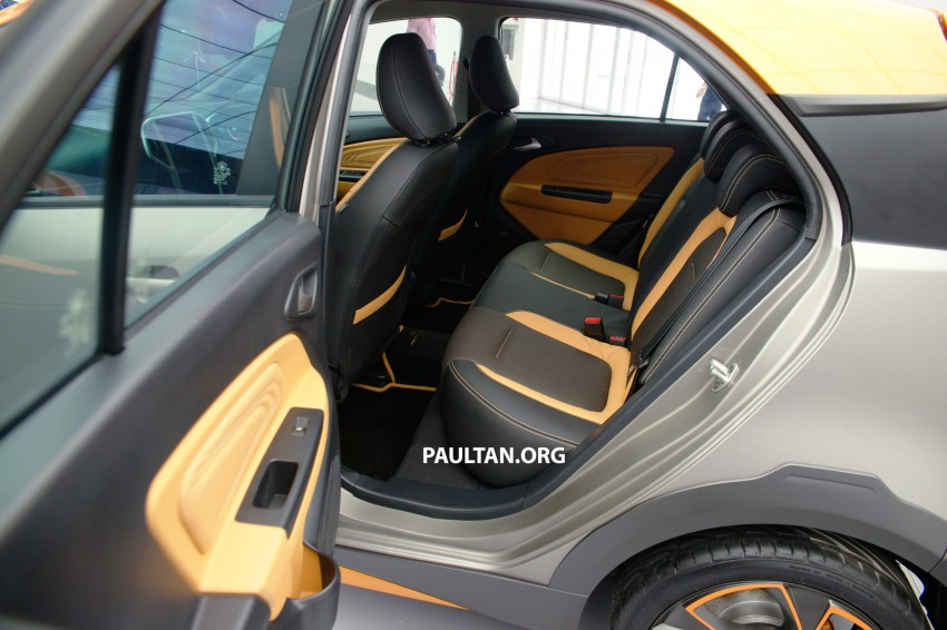 Proton Iriz Active concept unveiled with crossover looks, high-tech additions – production possible Image #275616