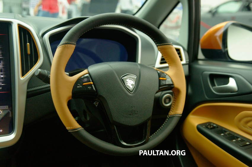 Proton Iriz Active concept unveiled with crossover looks, high-tech additions – production possible Image #275612