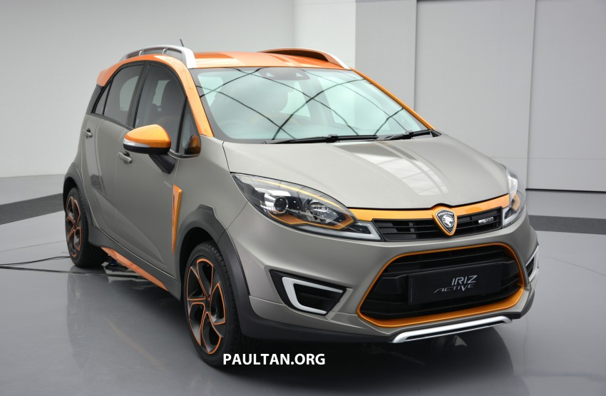 Proton Iriz Active concept unveiled with crossover looks, high-tech additions – production possible Image #275720
