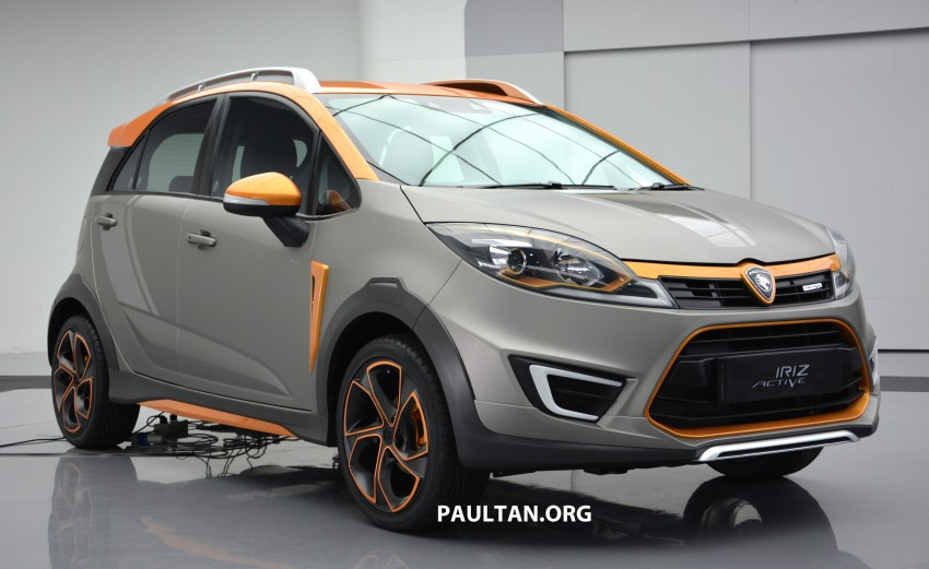 Proton Iriz Active concept unveiled with crossover looks, high-tech additions – production possible Image #275719