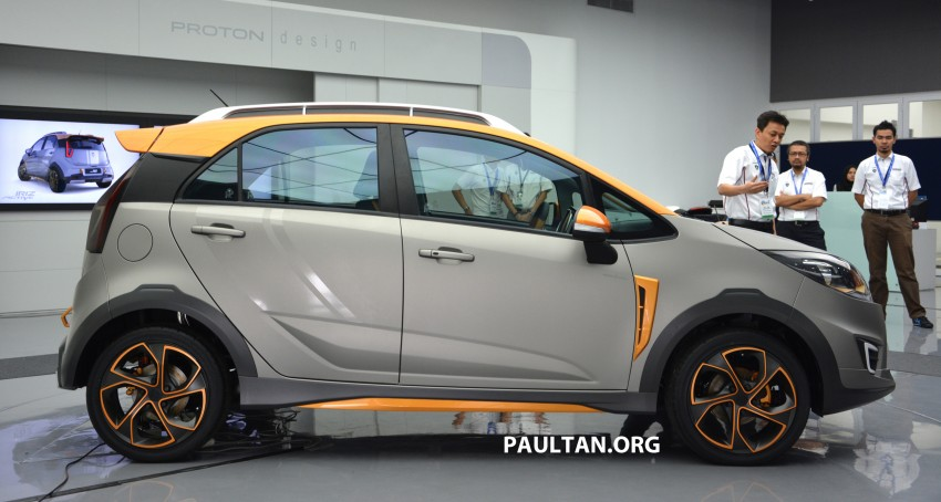 Proton Iriz Active concept unveiled with crossover looks, high-tech additions – production possible Image #275717