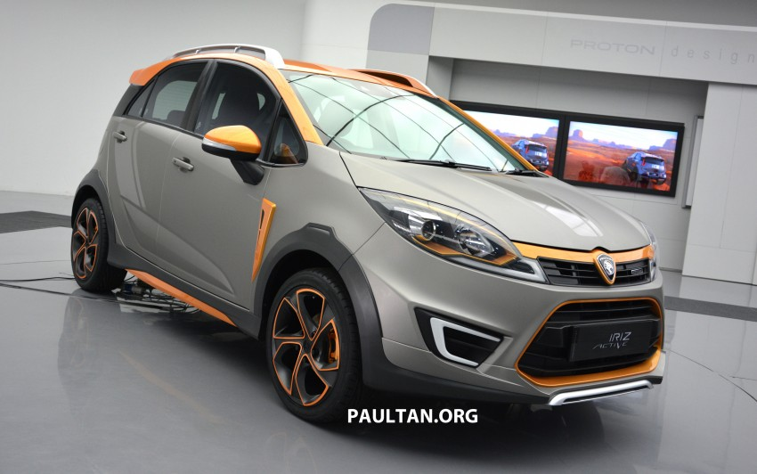 Proton Iriz Active concept unveiled with crossover looks, high-tech additions – production possible Image #275716