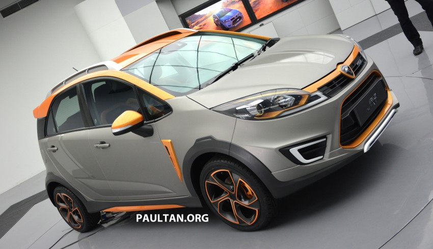 Proton Iriz Active concept unveiled with crossover looks, high-tech additions – production possible Image #275715