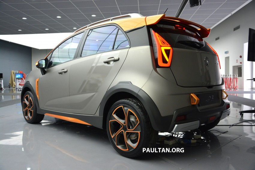 Proton Iriz Active concept unveiled with crossover looks, high-tech additions – production possible Image #275714