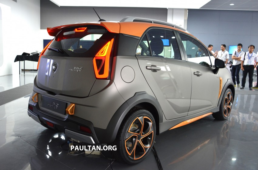 Proton Iriz Active concept unveiled with crossover looks, high-tech additions – production possible Image #275713