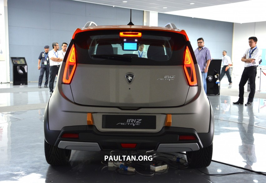 Proton Iriz Active concept unveiled with crossover looks, high-tech additions – production possible Image #275712