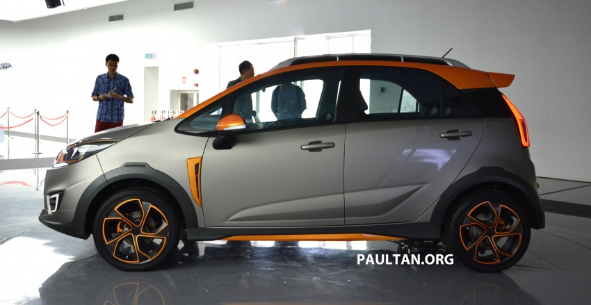Proton Iriz Active concept unveiled with crossover looks, high-tech additions – production possible Image #275711
