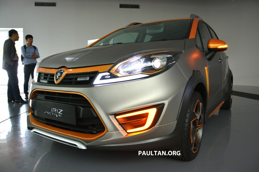 Proton Iriz Active concept unveiled with crossover looks, high-tech additions – production possible Image #275710