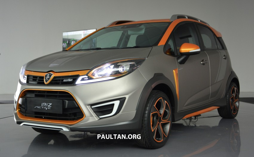 Proton Iriz Active concept unveiled with crossover looks, high-tech additions – production possible Image #275709