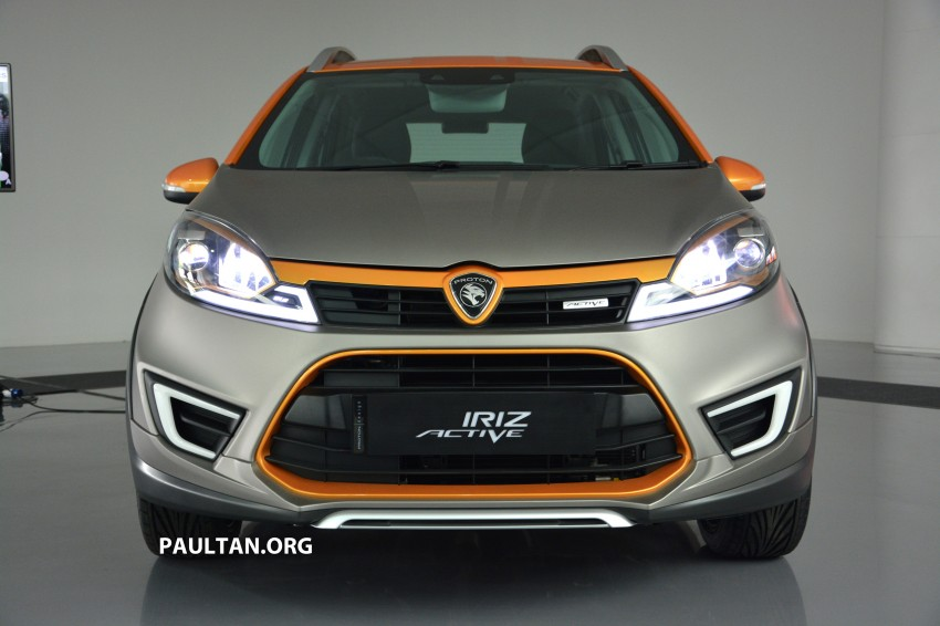 Proton Iriz Active concept unveiled with crossover looks, high-tech additions – production possible Image #275708