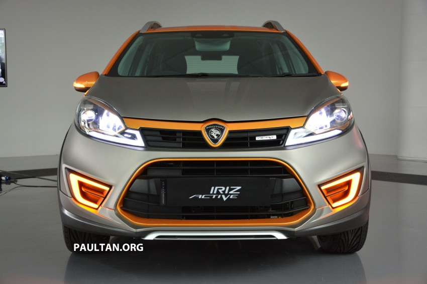 Proton Iriz Active concept unveiled with crossover looks, high-tech additions – production possible Image #275707