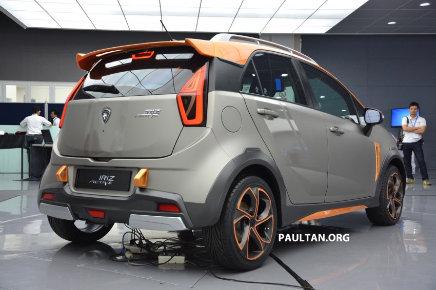 Proton Iriz Active concept unveiled with crossover looks, high-tech additions – production possible Image #275706