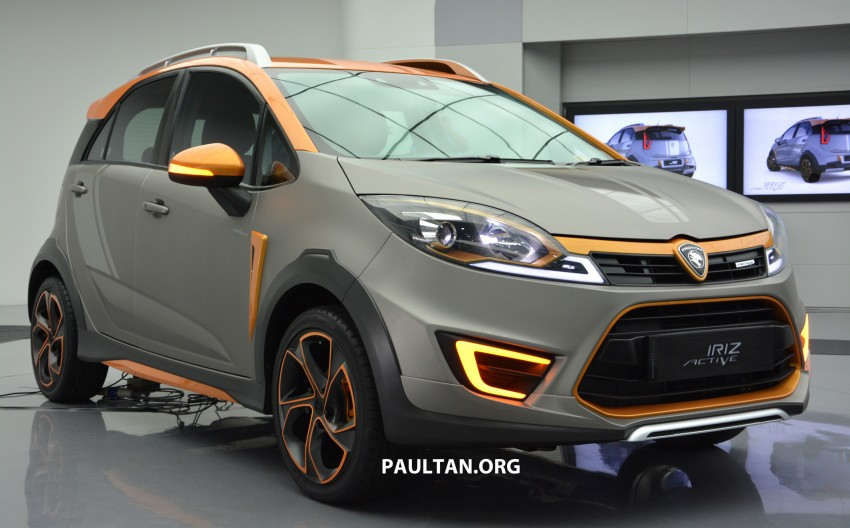 Proton Iriz Active concept unveiled with crossover looks, high-tech additions – production possible Image #275705