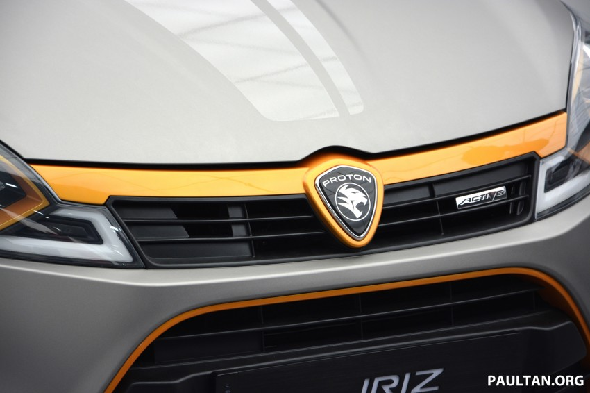 Proton Iriz Active concept unveiled with crossover looks, high-tech additions – production possible Image #275703