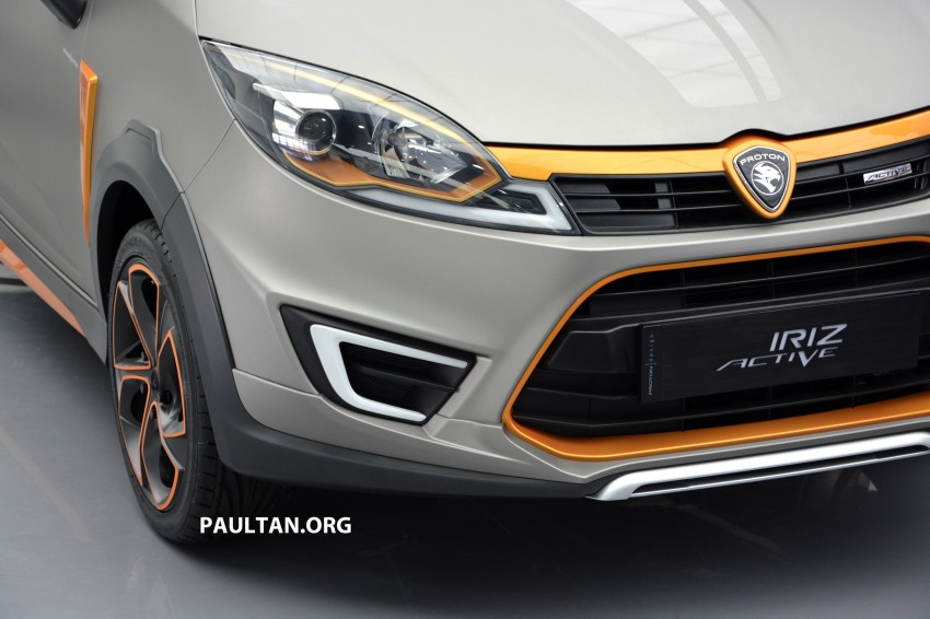 Proton Iriz Active concept unveiled with crossover looks, high-tech additions – production possible Image #275701