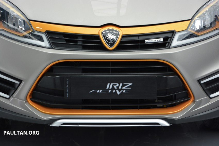 Proton Iriz Active concept unveiled with crossover looks, high-tech additions – production possible Image #275700