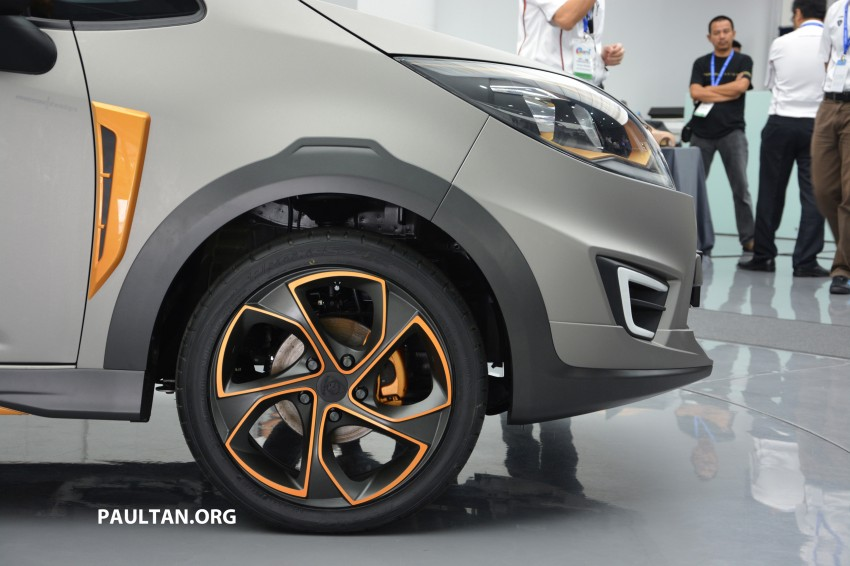 Proton Iriz Active concept unveiled with crossover looks, high-tech additions – production possible Image #275699