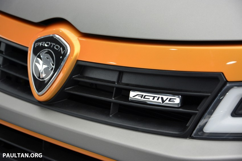 Proton Iriz Active concept unveiled with crossover looks, high-tech additions – production possible Image #275697