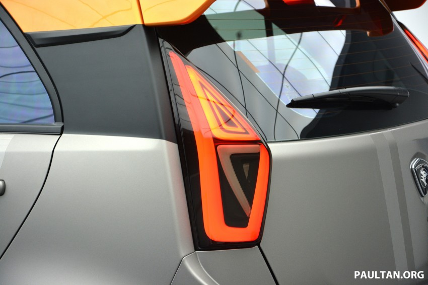 Proton Iriz Active concept unveiled with crossover looks, high-tech additions – production possible Image #275694