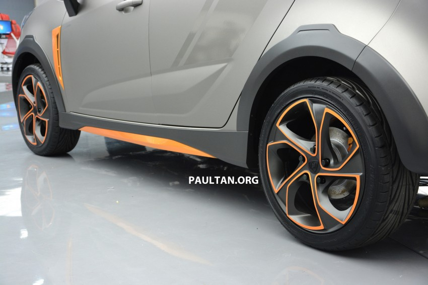 Proton Iriz Active concept unveiled with crossover looks, high-tech additions – production possible Image #275692