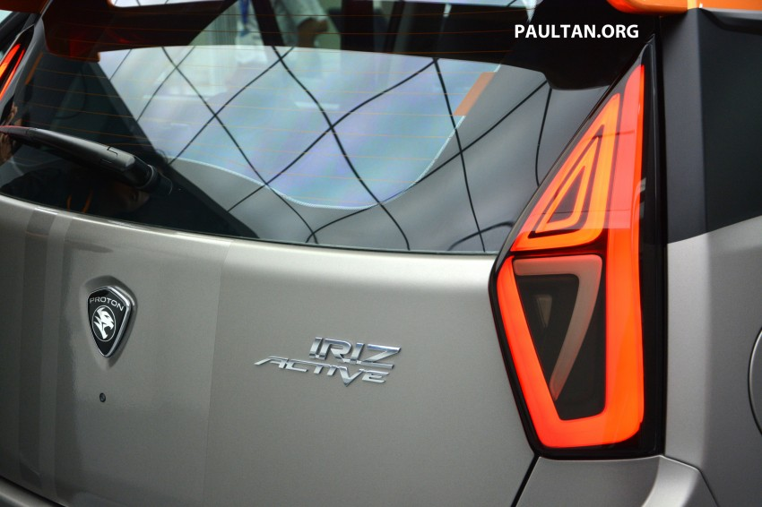 Proton Iriz Active concept unveiled with crossover looks, high-tech additions – production possible Image #275690