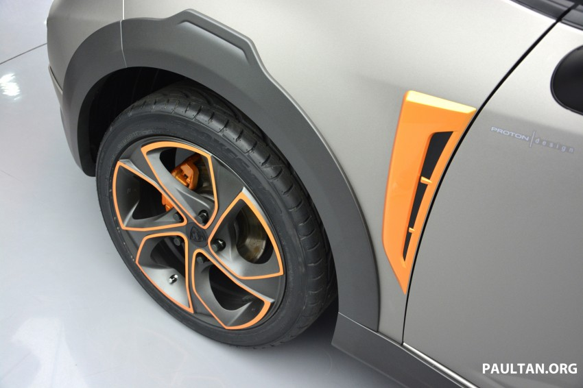 Proton Iriz Active concept unveiled with crossover looks, high-tech additions – production possible Image #275687
