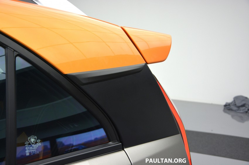 Proton Iriz Active concept unveiled with crossover looks, high-tech additions – production possible Image #275685