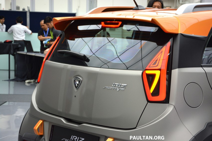 Proton Iriz Active concept unveiled with crossover looks, high-tech additions – production possible Image #275679
