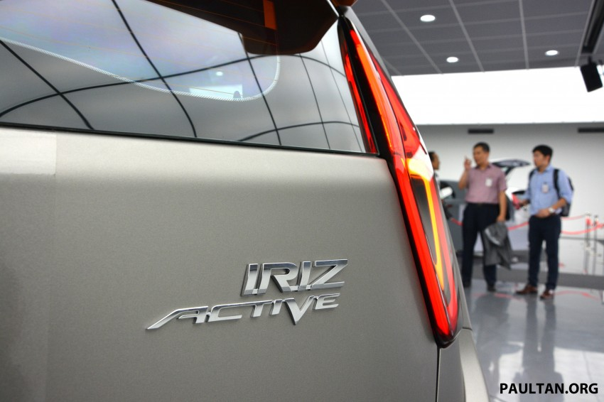 Proton Iriz Active concept unveiled with crossover looks, high-tech additions – production possible Image #275677