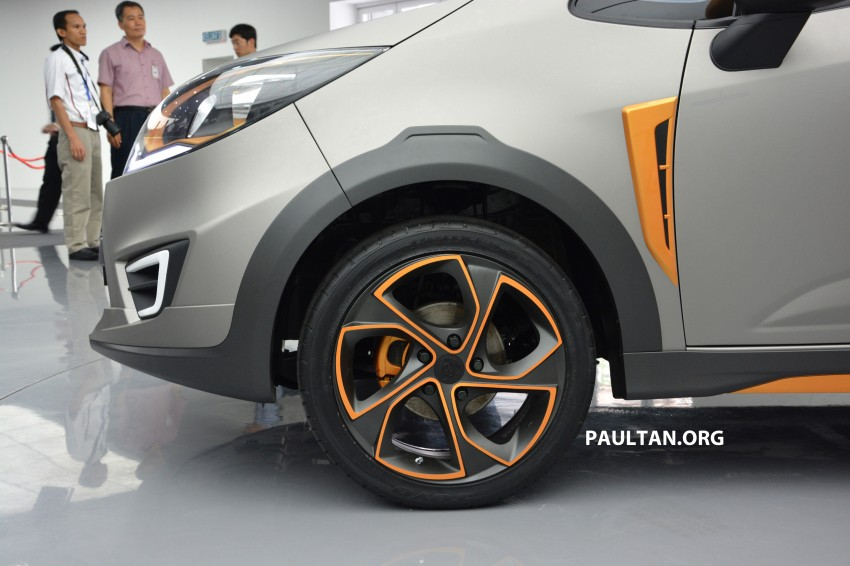 Proton Iriz Active concept unveiled with crossover looks, high-tech additions – production possible Image #275675