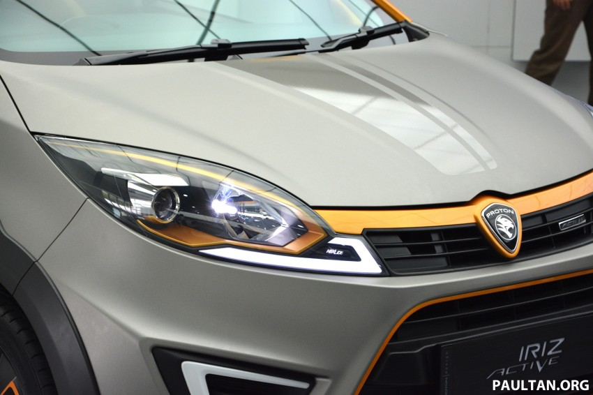 Proton Iriz Active concept unveiled with crossover looks, high-tech additions – production possible Image #275673