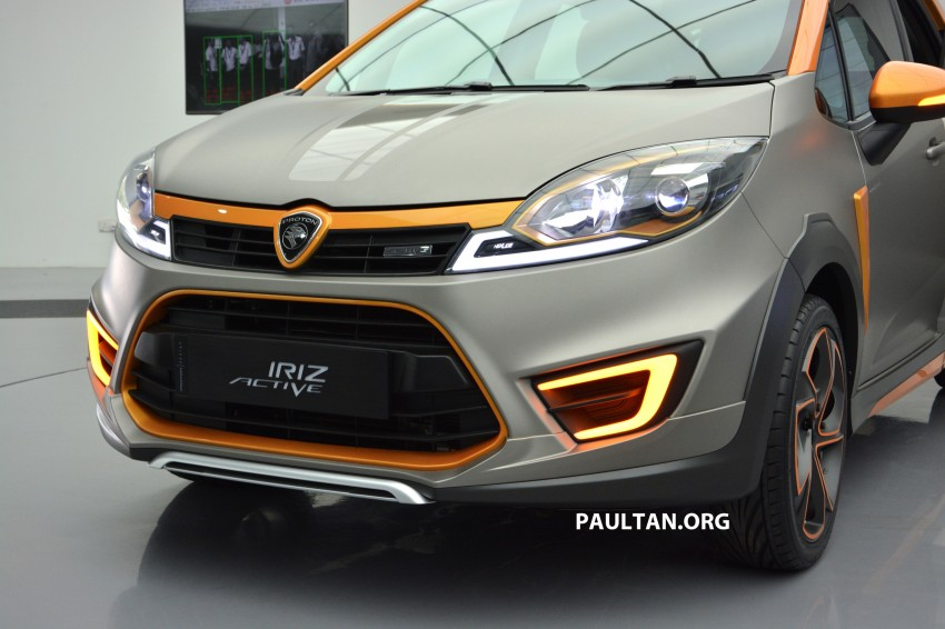 Proton Iriz Active concept unveiled with crossover looks, high-tech additions – production possible Image #275672