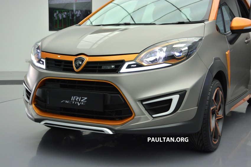 Proton Iriz Active concept unveiled with crossover looks, high-tech additions – production possible Image #275670