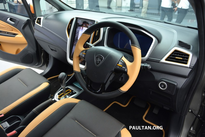 Proton Iriz Active concept unveiled with crossover looks, high-tech additions – production possible Image #275668