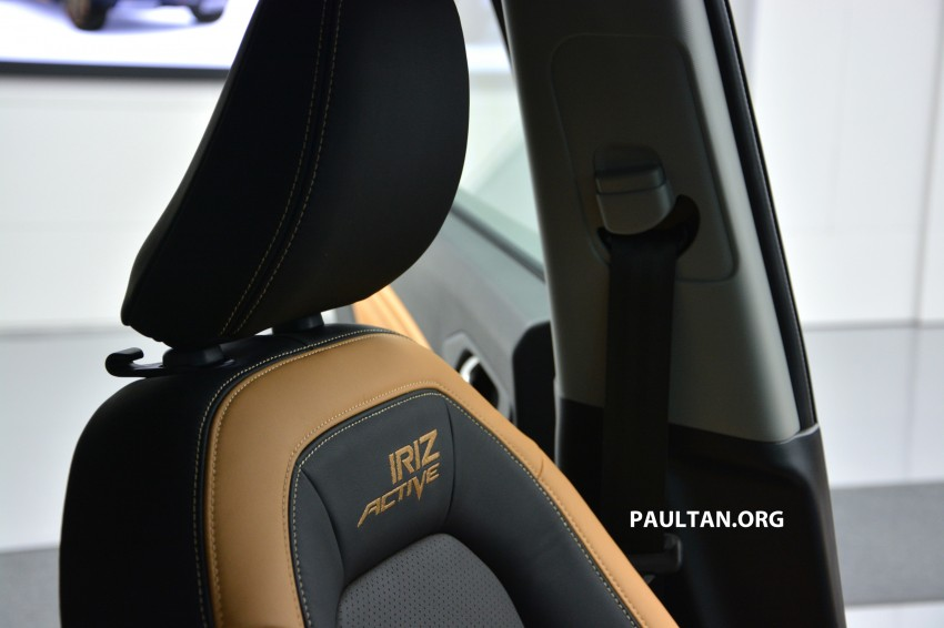 Proton Iriz Active concept unveiled with crossover looks, high-tech additions – production possible Image #275660