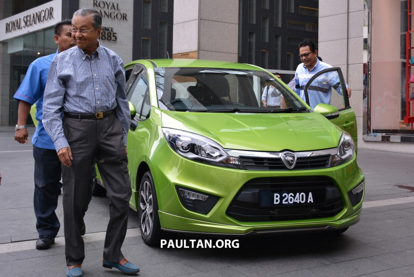 Proton PCC undisguised – driven by Tun Mahathir Image #271565