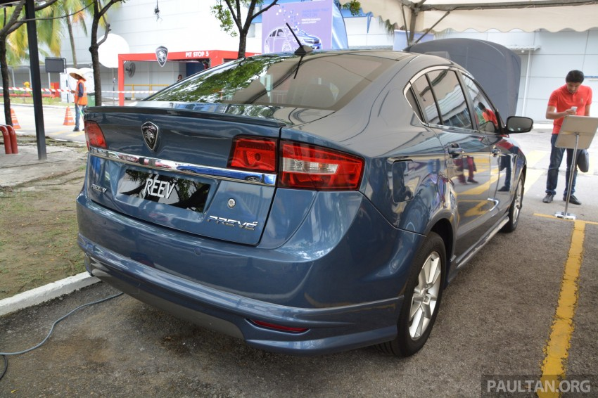 Proton Preve REEV electric car prototype previewed Image #275792